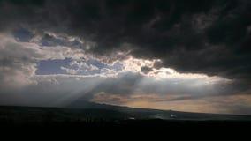 La salida del sol de la mañana Fotos de archivo