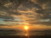 La salida del sol hermosa São Francisco hace Sul fotos de archivo libres de regalías