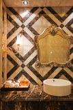 La salle de bains photo stock