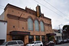 La salle de cinéma de marina, un des derniers théâtres originaux est partie à San Francisco, 1 photographie stock