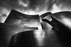 La salle de concert de Disney à Los Angeles la Californie image libre de droits