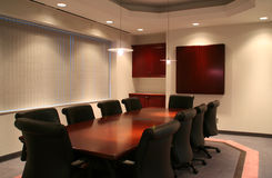 La salle de réunion Images stock