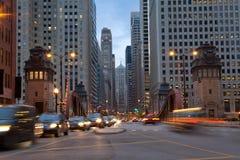 Free La Salle Street Of Chicago. Stock Photos - 21801053