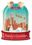 La salutation Snowball de la saison de Seattle illustration libre de droits