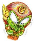 La salutation thaïlandaise et vous remercient peinture de symbole de traditions Images stock