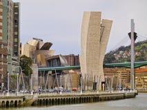 La Salve Bridge in Bilbao Royalty Free Stock Photography