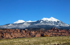 La-Salz-Berge Lizenzfreie Stockbilder