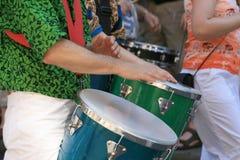 La samba bat du tambour de #4 Photographie stock libre de droits