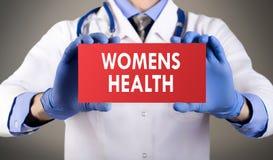 La santé des femmes Image stock