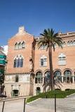 La Santa Creu de del hospital i Sant Pau en Barcelona Foto de archivo libre de regalías