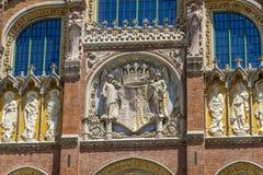 La Santa Creu de l'hôpital De i de Sant Pau Images stock
