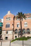 La Santa Creu de l'hôpital De i Sant Pau à Barcelone Photo libre de droits