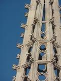 La Santa Cruz y Santa Eulalia, Barcelona de Catedral de Foto de archivo