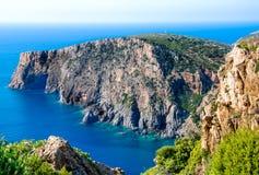 La Sardaigne, côte de Sulcis photos libres de droits