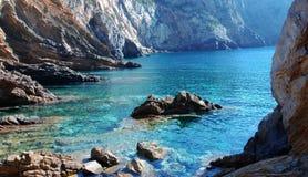 La Sardaigne - canal grand Image libre de droits