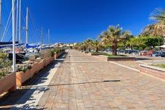La Sardaigne - le Carloforte Image libre de droits