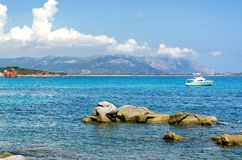 La Sardaigne, le CEA photographie stock