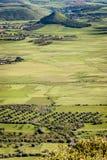 La Sardaigne. Paysage de Marmilla Images stock
