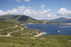 La Sardegna immagini stock
