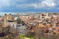La Sardegna, Cagliari, Stampace immagine stock libera da diritti