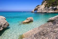 La Sardegna, Cala Goloritze fotografia stock libera da diritti