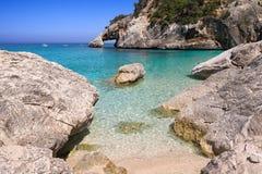 La Sardegna, Cala Goloritze fotografie stock