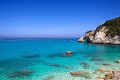 La Sardegna, Cala Goloritze immagini stock