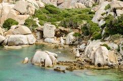 La Sardegna, Cala Spinosa Fotografia Stock Libera da Diritti