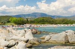La Sardegna, CEA immagini stock libere da diritti