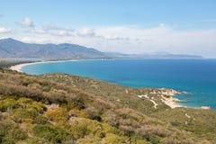 La Sardegna, Italia - paesaggio dell'isola della Sardegna Immagini Stock