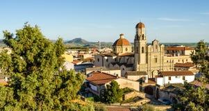 La Sardegna, Sanluri immagini stock