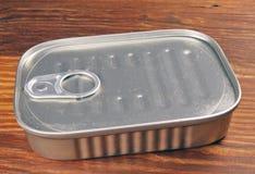 La sardina puede Foto de archivo