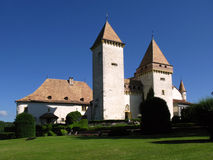 La Sarraz Castle Stock Images