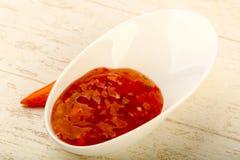 La sauce aigre-doux images stock