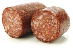 la saucisse hollandaise a appelé le boerenmetworst images stock