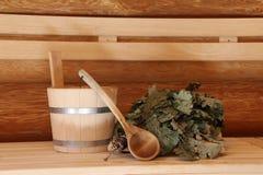 La sauna es sana Fotografía de archivo