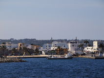 La Savina Port on Formentera Royalty Free Stock Images