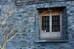 La fenêtre chinoise antique Images libres de droits