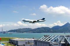 La scène de l'aéroport en Chine Images stock