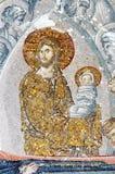 La scène de la mort de Vierge Marie image libre de droits