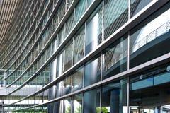 La scène du bâtiment d'aéroport Image stock