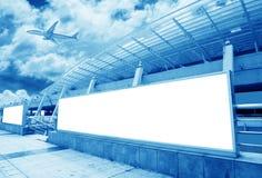 La scène du bâtiment de l'aéroport T3 dans la porcelaine de Pékin. Image stock