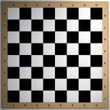 La scacchiera 3d rende Fotografia Stock
