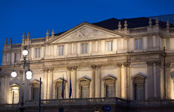 La Scala剧院 库存图片