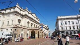 La Scala av Milan lager videofilmer