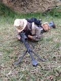 La scala 1/6 del barret M82A1 del tiratore franco fotografia stock libera da diritti