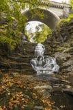 La scala e Cornell Stone Arch del gigante Fotografia Stock Libera da Diritti