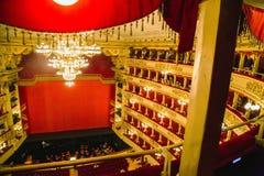 La Scala i Milan Arkivbild