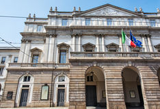 La Scala is an opera house in Milan, Italy Stock Photography