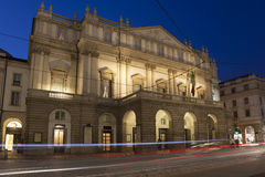La Scala Opera House, Milan Royalty Free Stock Photography